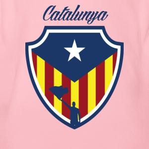 catalunya - Organic Short-sleeved Baby Bodysuit