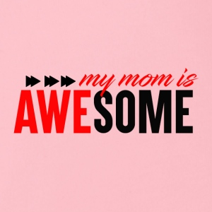 Awesome Mum - Mum Power - Baby Bio-Kurzarm-Body