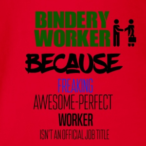 Bindery worker - Baby Bio-Kurzarm-Body