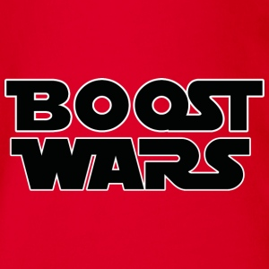 BOOST WARS - Organic Short-sleeved Baby Bodysuit
