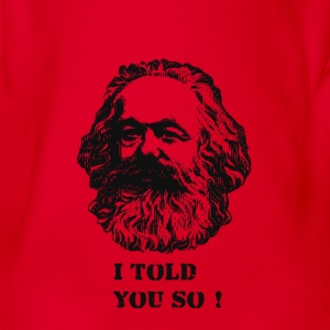 Karl Marx Prophecy - Organic Short-sleeved Baby Bodysuit