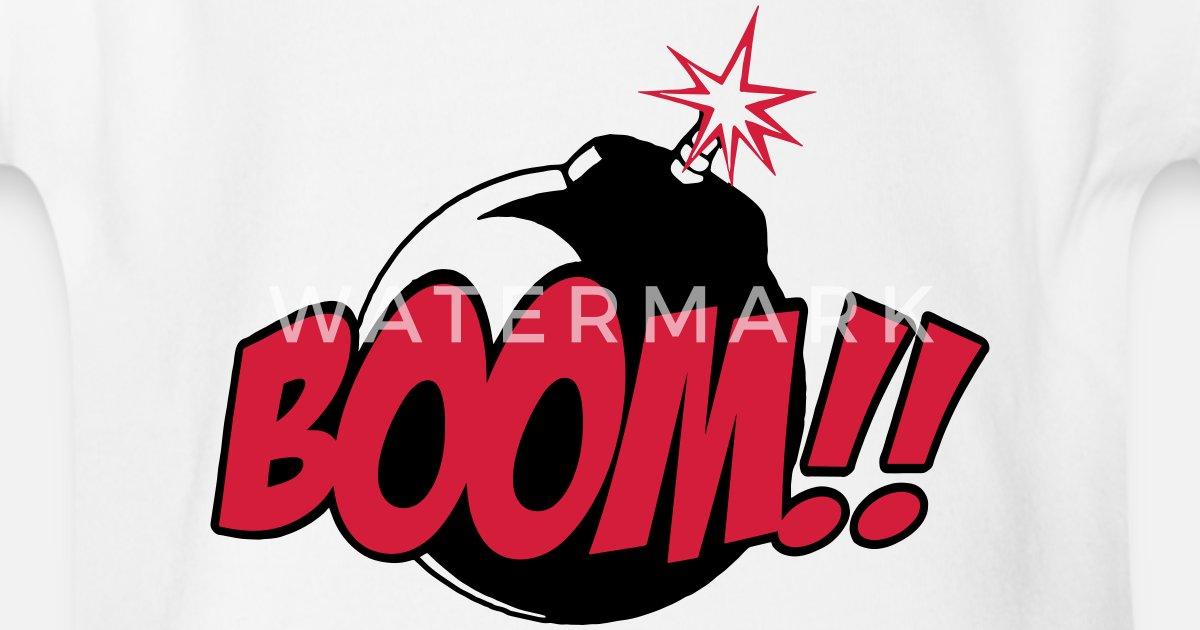 boom - comic sound von SeijiArt   Spreadshirt