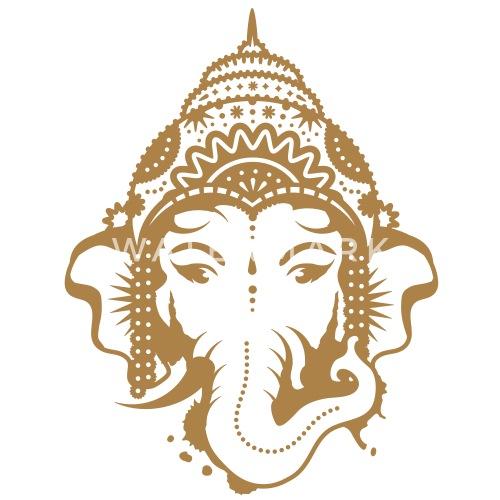 Ganesh Dieu A Tete D Elephant De Namo Spreadshirt
