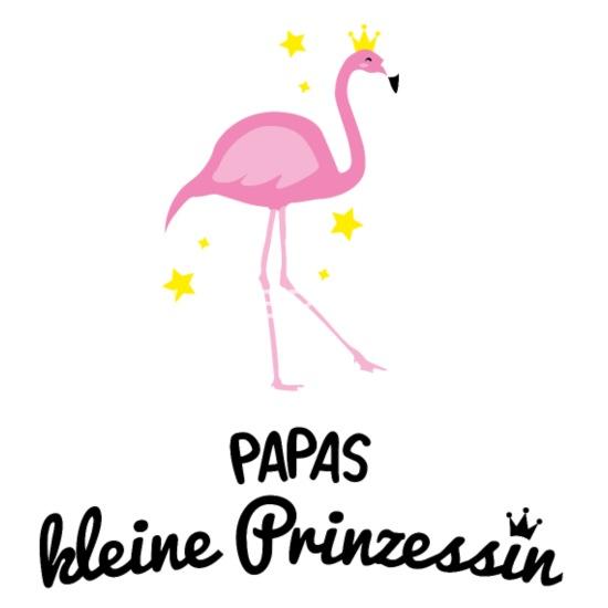 Prinzessin Papa Tochter Geburt Flamingo Geschenk Baby Bio
