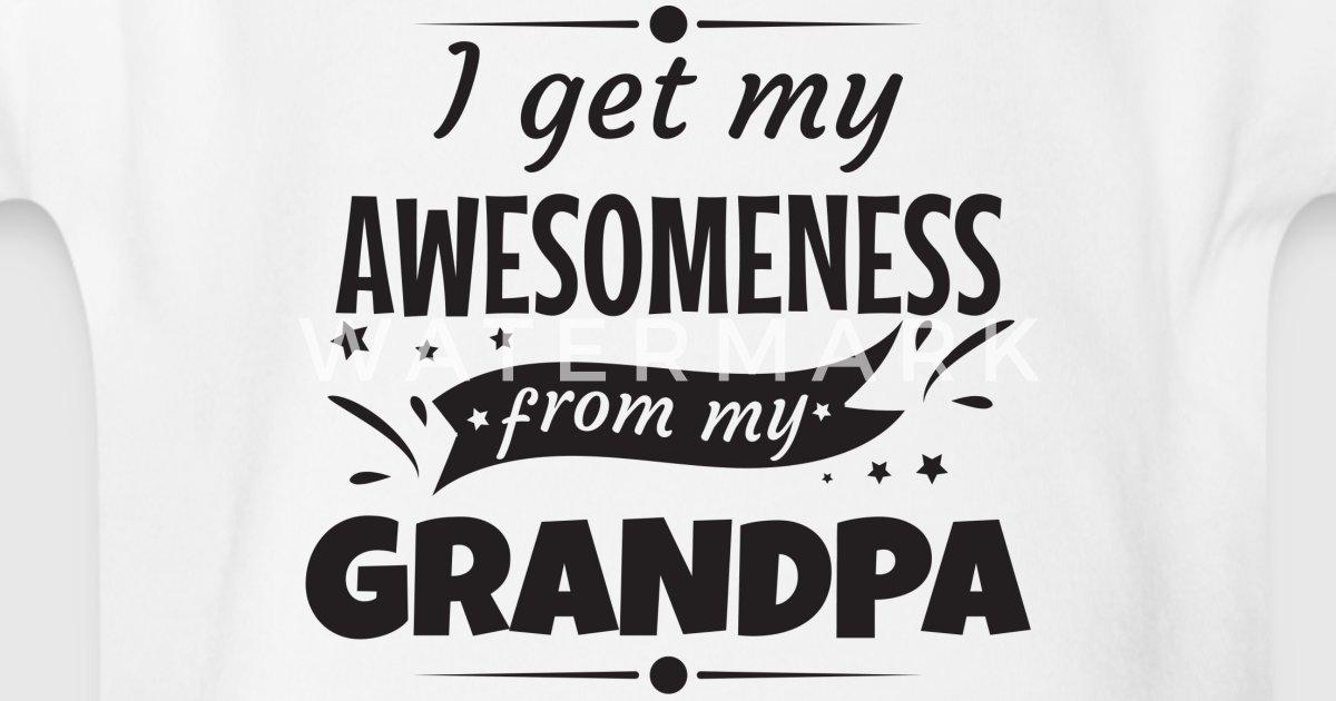 body b b awesomeness grand p re papy grandpa cadeau spreadshirt. Black Bedroom Furniture Sets. Home Design Ideas