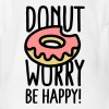 Donut worry, be happy! - Body bébé bio manches courtes