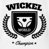 Wickel World Champion - Body bébé bio manches courtes