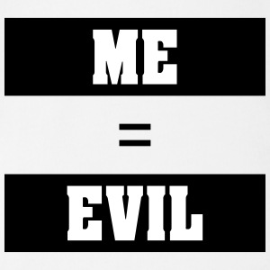 ME EVIL - Organic Short-sleeved Baby Bodysuit
