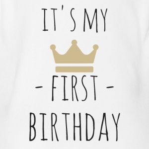 It's my first birthday