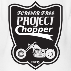 project chopper - Body orgánico de maga corta para bebé