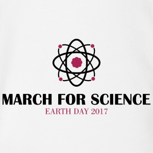 March for Science - Organic Short-sleeved Baby Bodysuit