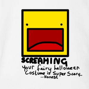 Halloween Screaming - Body bébé bio manches courtes