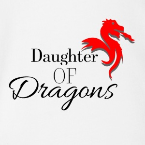 Daughter of Dragons - Organic Short-sleeved Baby Bodysuit