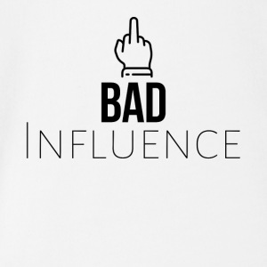 Bad Influence - Baby bio-rompertje met korte mouwen