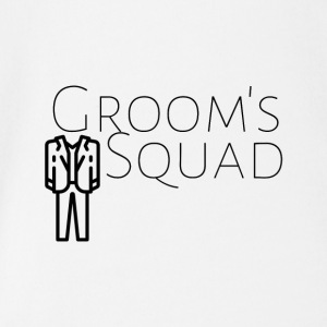 Grooms squad - Organic Short-sleeved Baby Bodysuit