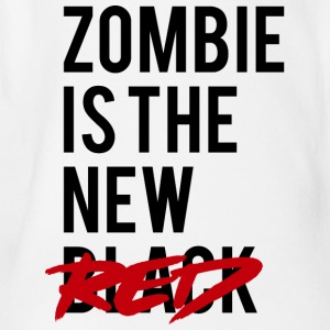 Zombie: Zombie Is The New Red - Organic Short-sleeved Baby Bodysuit