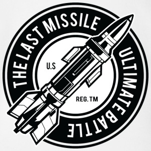 The Last Missile - Organic Short-sleeved Baby Bodysuit
