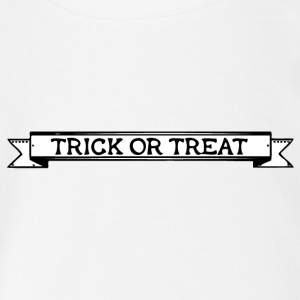 Trick or Threat - Baby Bio-Kurzarm-Body