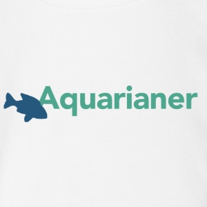 Aquarianer T-Shirt - Baby Bio-Kurzarm-Body