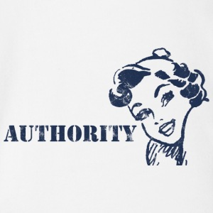 Pin-Up Girl / Rockabilly / 50s: Authority - Organic Short-sleeved Baby Bodysuit