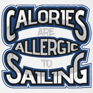 Calories are allergic to sails 2 - Organic Short-sleeved Baby Bodysuit