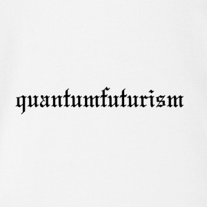 Quantumfuturism (Old London style) - Organic Short-sleeved Baby Bodysuit