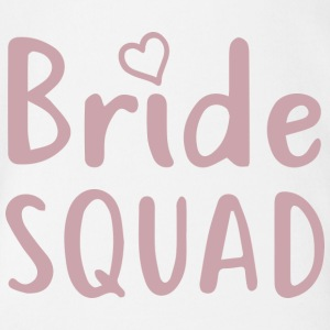 Bachelorette Party - BRIDE SQUAD - Organic Short-sleeved Baby Bodysuit