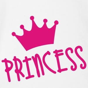 Princess - Baby Bio-Kurzarm-Body
