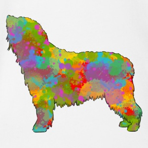 Spanish Water Dog Multicolor - Baby Bio-Kurzarm-Body