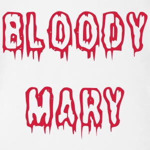 Bloody Mary blutige Schrift - Baby Bio-Kurzarm-Body