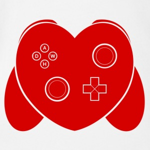 Love Of Gaming - Rouge - Body bébé bio manches courtes