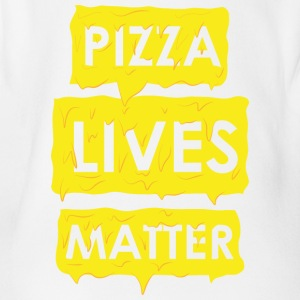 Pizza Lives Matters - Baby Bio-Kurzarm-Body
