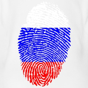Fingerprint - Russia - Organic Short-sleeved Baby Bodysuit