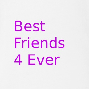 best friends for ever - Baby Bio-Kurzarm-Body