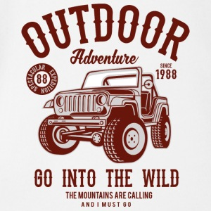 Outdoor Adventure Go Into The Wild - Baby Bio-Kurzarm-Body