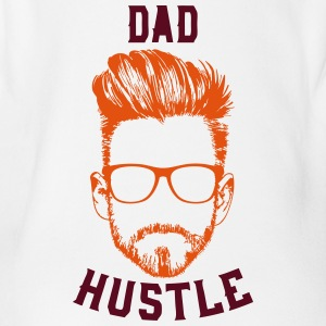 DAD HUSTLE - Organic Short-sleeved Baby Bodysuit
