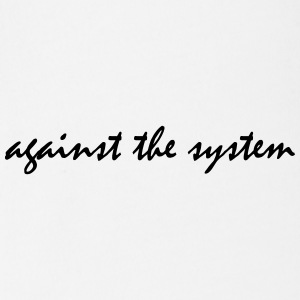 Against The System - Baby Bio-Kurzarm-Body