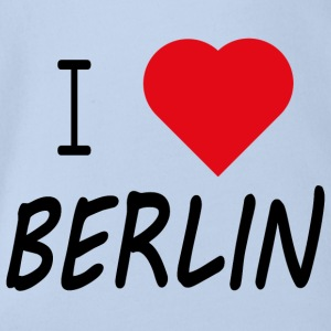 I Love Berlin - Organic Short-sleeved Baby Bodysuit