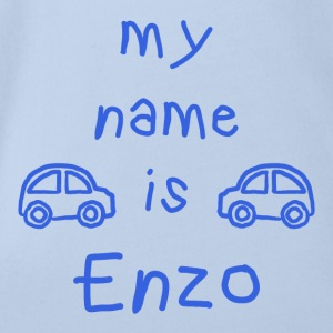 ENZO MY NAME IS - Body bébé bio manches courtes