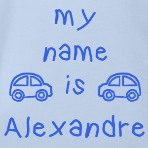 ALEXANDRE MY NAME IS - Body bébé bio manches courtes