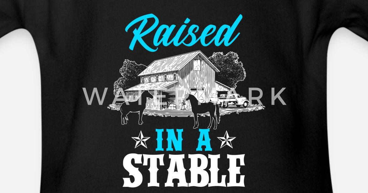 243605e5c Heste Riding Ridning Gift · Grow Økologisk kortermet babybody   Spreadshirt