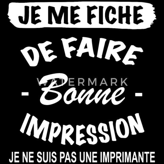 Citation Drôle Je Me Fiche Cadeaux Body Bébé Bio Manches