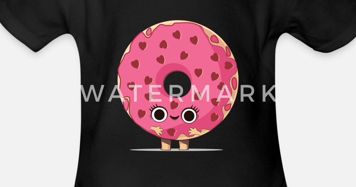 donut bagel kuchen backen bäcker backwaren Herz von shirtzz123 ...