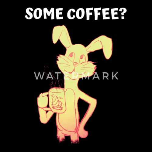 Kaffee Coffee Osterhase Ostern Lustige Spruche Baby Bio Kurzarmbody