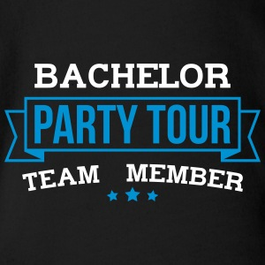 Bachelor Party Tour - Organic Short-sleeved Baby Bodysuit