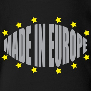 Made In Europe - Organic Short-sleeved Baby Bodysuit