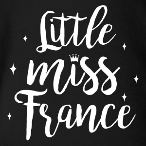 Little Miss France - Ekologisk kortärmad babybody