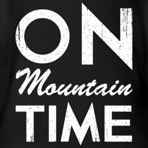 On Mountain Time - Organic Short-sleeved Baby Bodysuit