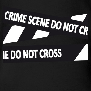 Crimescene - Organic Short-sleeved Baby Bodysuit