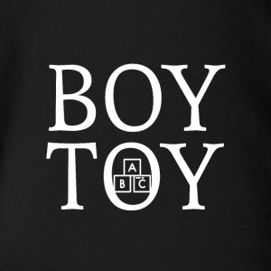 Boy Toy - Økologisk kortermet baby-body